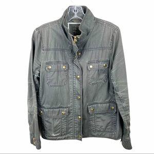 JCrew The Downtown Field Jacket Military Outerwear